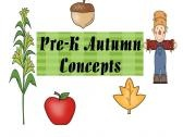 Freebie! Pre-K Autumn Concepts product from Twin-Sister-Speech on TeachersNotebook.com