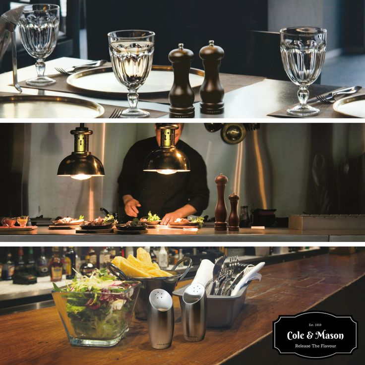 Cole & Mason Salt & Pepper Mills are your perfect partner for food service, combining performance with quality and elegance. Available in contemporary and classic designs from traditional wood to stylish stainless steel Cole & Mason Salt & Pepper Mills will complement any décor.