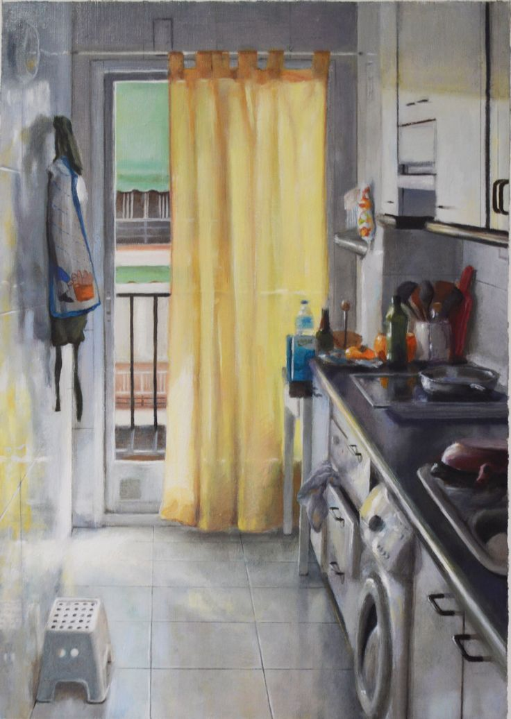 Oil on canvas - 39,5 x 28 cm
