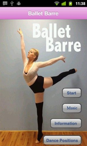 Ballet Barre Exercises Screenshot 1