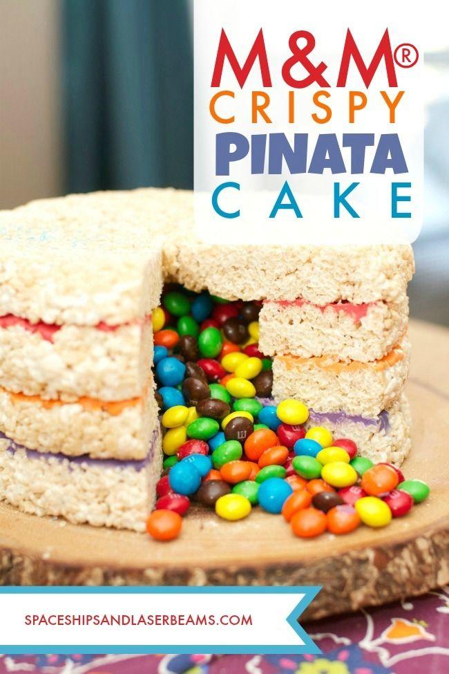 M&M's® Crispy Pinata Cake