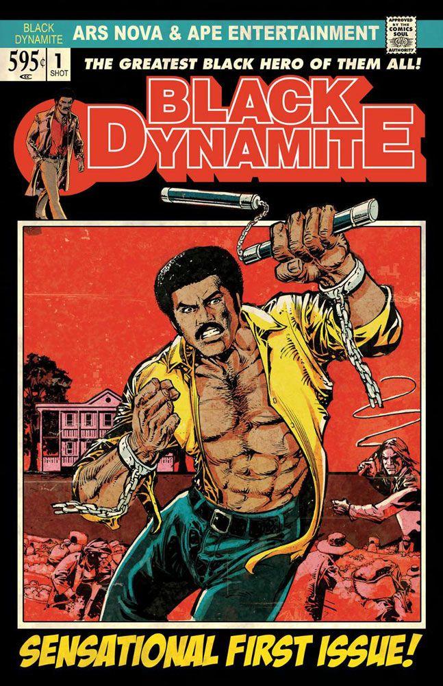 Black Dynamite. No. 1. ARS Nova & APE Entertainment comic book.