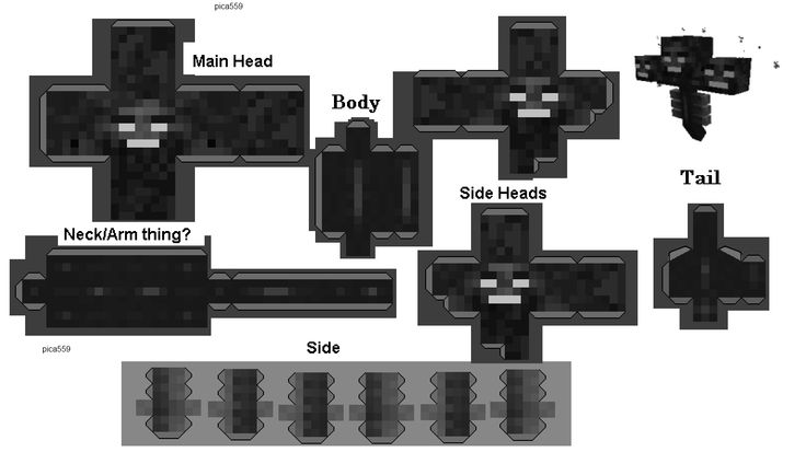 Papercraft Wither | Ja...