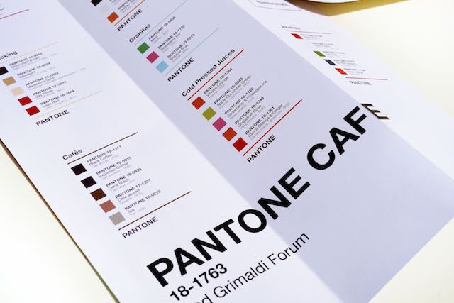The Pantone Cafe Serves the Colorful Meal of Your Dreams | The Creators Project