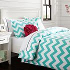 Chevron Duvet Cover + Sham, Pottery Barn Teen Girl-- I'm getting this set for my dorm for positively absolutely sure!!! I can't wait!!!  ☺️⚓️✌️