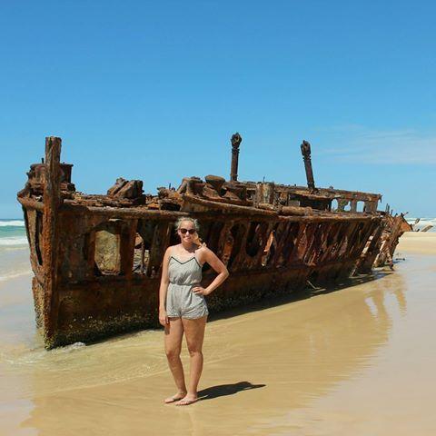 #fraserisland #australia #awsometrip #mahenoshipwreck #camping #palaceadventures #beach #eastcoast