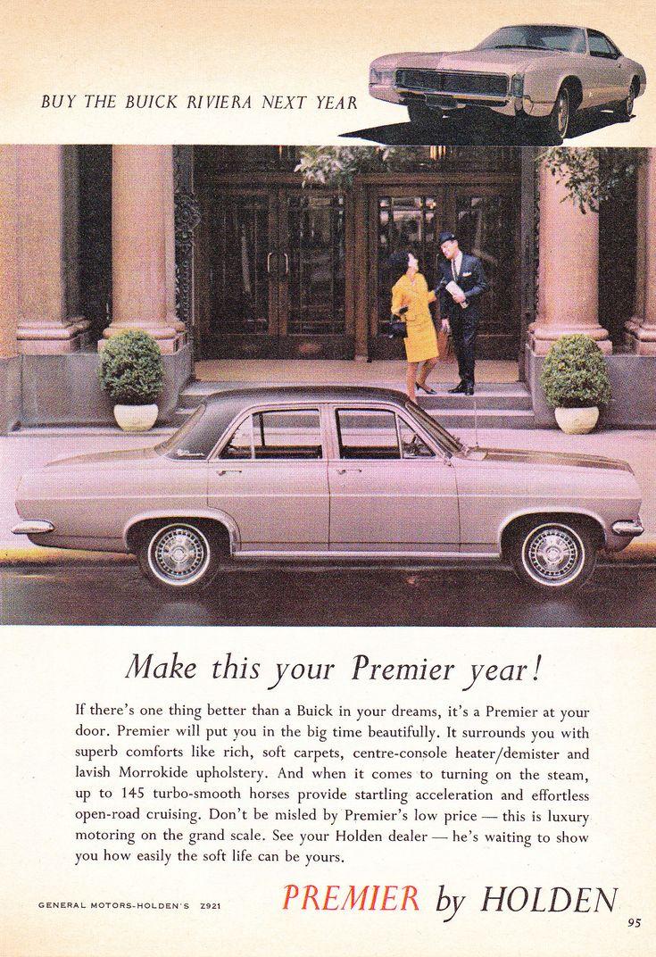 https://flic.kr/p/22HAi3M | 1967 HR Holden Premier Buy The Buick Riviera Next Year Aussie Original Magazine Advertisement