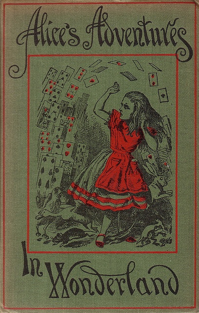 Alice's Adventures in Wonderland by Lewis Carroll,   Cover & Illustrationen: John Tenniel  Macmillan and Co., Limited  (London, England; 1943) via Michael Studt (micky the pixel) on Flickr
