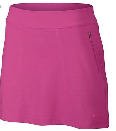 Please draw as knit pull on skort as in image with zipper pockets. Draw back view with single welt pocket on wearer's back right.