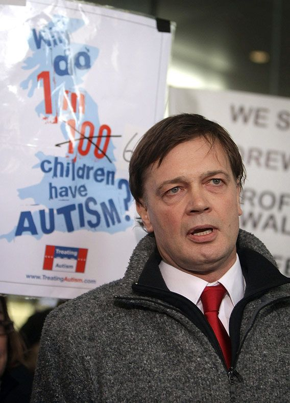 Andrew Wakefield is an idiot. Of course he's trying to make this a conspiracy...God forbid he own up to what he did and why he did it. Hope he falls off the face of the earth soon