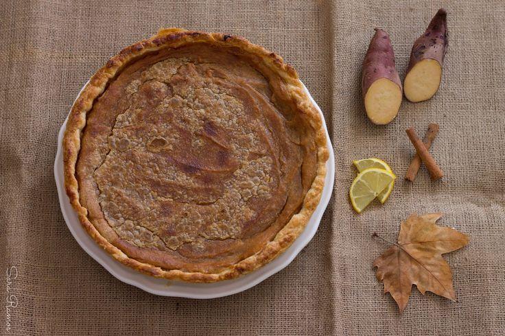 Tarte de Batata Doce e Especiarias...Olá Outono!!!!