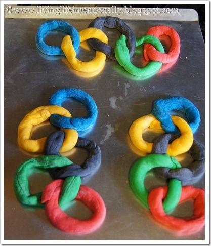 Olympic Pretzels