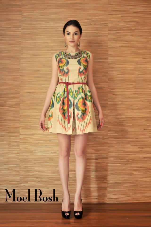 Dress by Moel Bosh #uzbekfashion #uzbekdesigners #dress #fashion #ikat