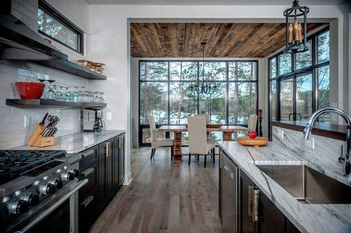 ▷ 1001 + idées charmantes pour votre parquet de cuisine ...