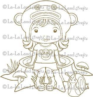 Cheeky Monkey Marci Digi Scene 8 - DIGI Stamp