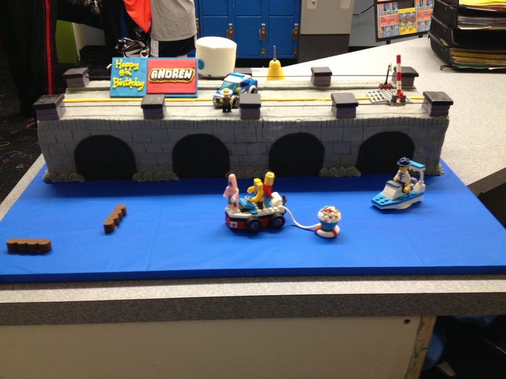 Lego Cake at ISC Cherry Hill