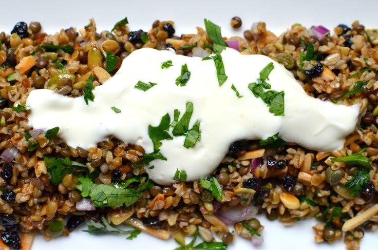Cypriot Grain Salad – Best Salad Ever….