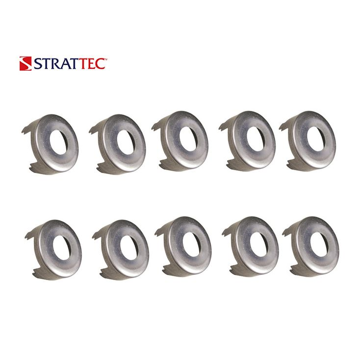 1983, 2000 - 2017 Strattec Ford Lincoln Mercury Lock Face Cap / 322839 (Packs of 10)