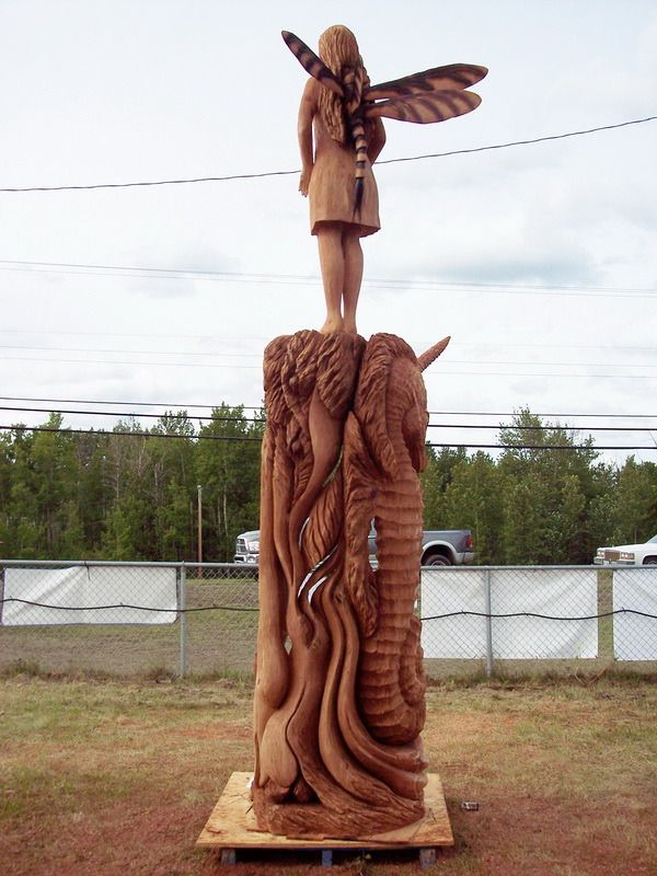 Beste afbeeldingen over chainsaw art op pinterest
