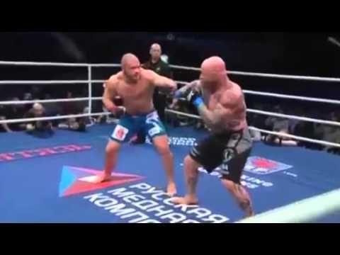 Jeff Monson 'Bitch Slaps' Russian Promoter After Set-Up Boxing Fight