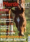 """Pferde Sport international 18/2015 """"Brillanter Abschied"""""""