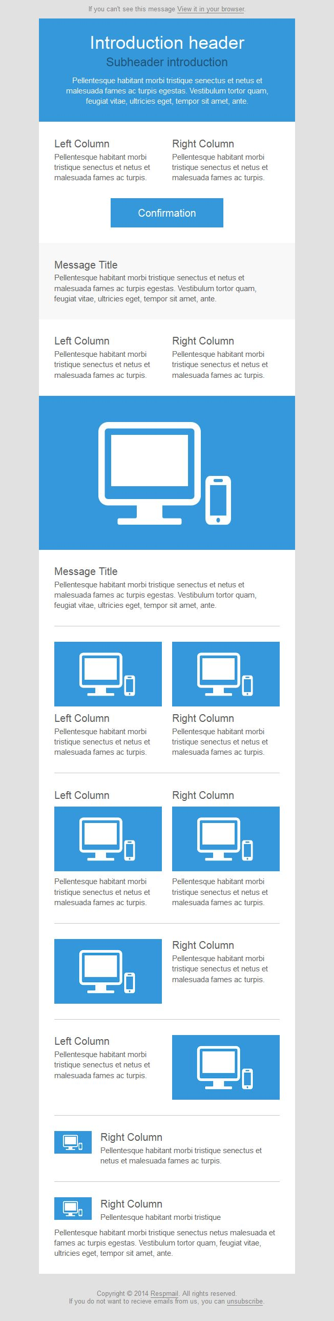 40 bästa bilderna om Email Template på Pinterest | Skärm, Layout ...