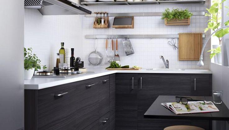 Jak zaplanować małą kuchnię z IKEA?