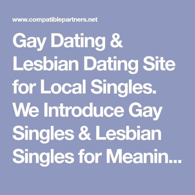 lesbian and gay singles
