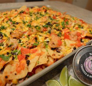 #Featured on ifood TV for #MardiGras - How to Cook #NapaJacks #Chipotle #BlackBean & #Shrimp #Nachos! #oohwee #seafood   * Subscribe to Cooking With Kimberly: http://my.fawesome.tv/CookingWithKimberly #cwk