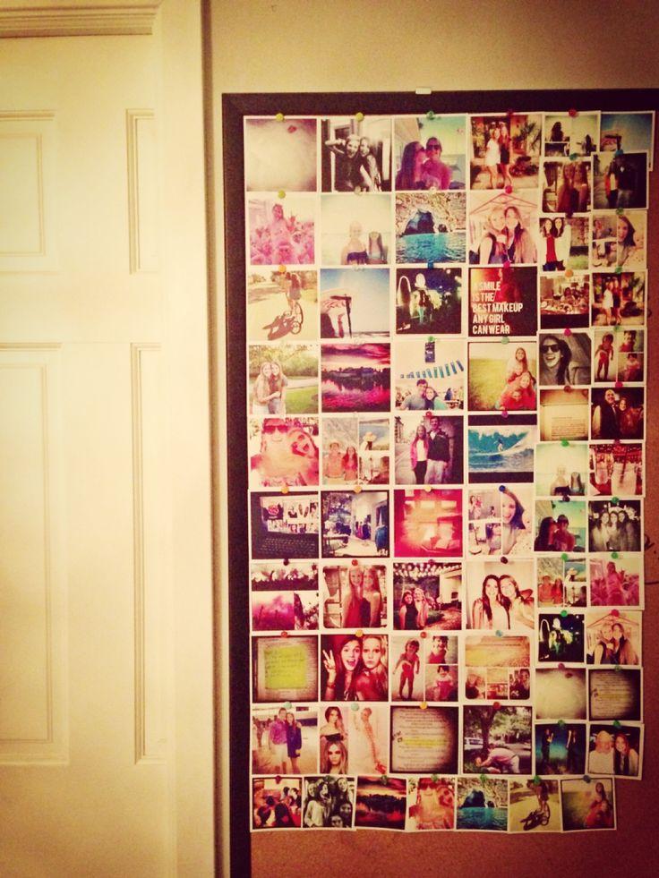 Cool website prints your instagrams, Polaroid size. Prinstagram