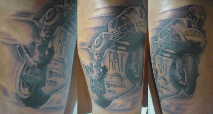 Tattoo Valentino Rossi tatuaje   tatuajes   Pinterest ...