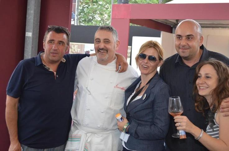 Pasquale Pace, Arcangelo Dandini e Davide Tanganelli. Vinòforum
