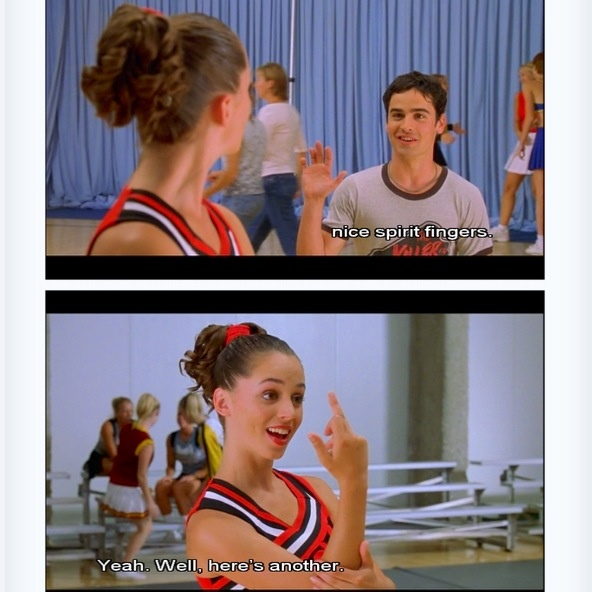 Bring it On is easily one of the quintessential chick flicks of my generation.