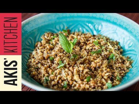 How to cook bulgur wheat | Akis Petretzikis Follow this video and learn how to cook bulgur wheat the RIGHT way!!!