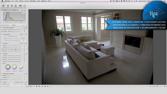 Ritocco fotografico a Photoshop per cercare di salvare una foto potenzialmente riuscita male. Utilizziamo Apple Aperture per aggiustare i livelli, la luce ecc.. e poi la importiamo a Photoshop per ritoccarla in maniera professionale.