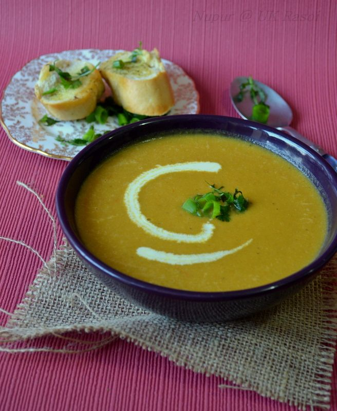 Roasted eggplant soup | For the Love of Food - Chowdah | Pinterest