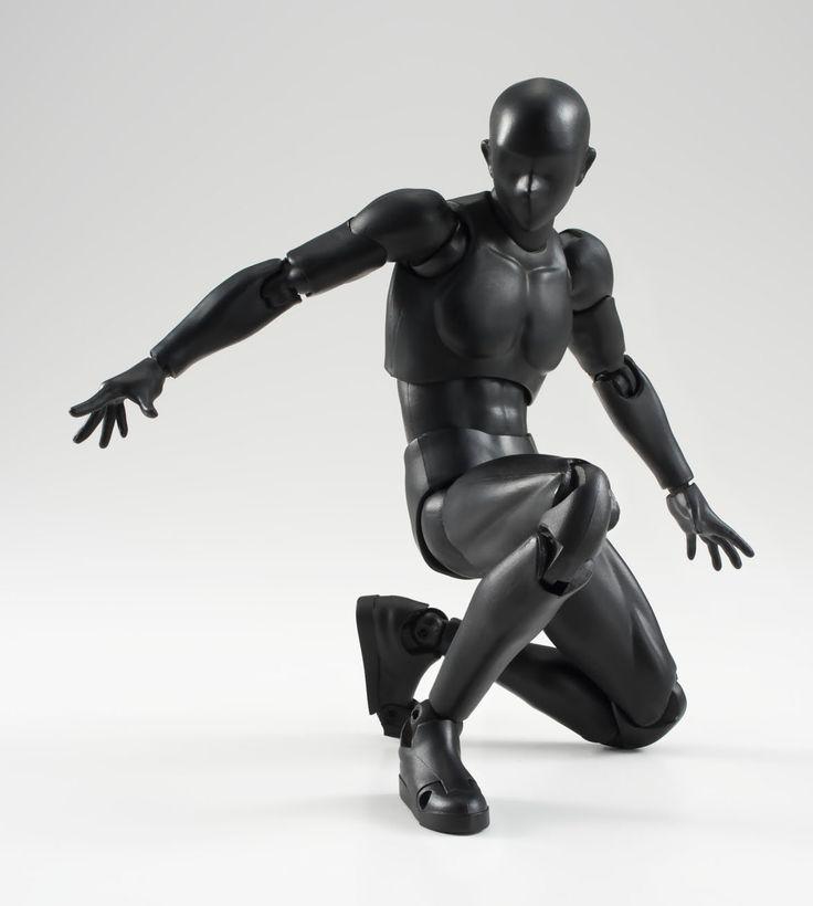 S.H. Figuarts - Body-kun (Solid black Color Ver.): Amazon.co.uk: Toys & Games