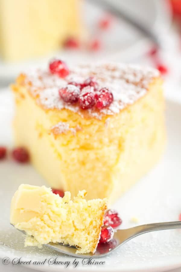 This melt-in-your-mouth light and delicate souffle cheesecake is made with only 3 ingredients that you probably have on hand.