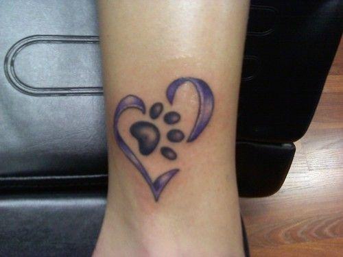 paw heart. kinda cute