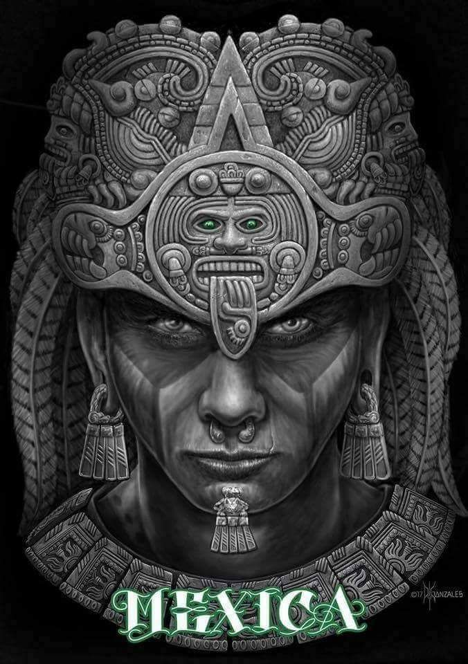 GUERRERO INVENCIBLE MEXICA AZTECA