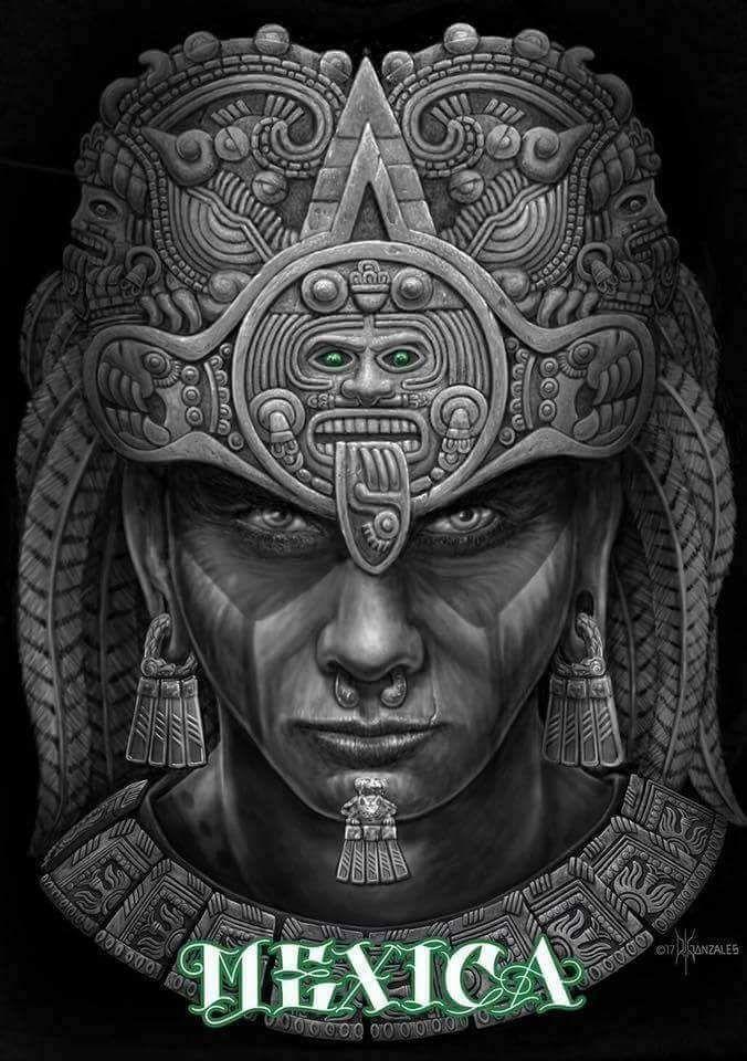 Cihuacóatl Mujer Guerrera Y Amante De Los Guerreros Aztec Warrior