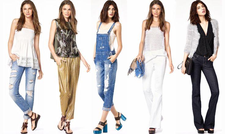 Jeans Liu Jo primavera estate 2016: Foto - http://www.beautydea.it/jeans-liu-jo-primavera-estate-2016-foto/ - Sogniamo l'arrivo della primavera e dell'estate con la nuova collezione denim Liu Jo per un look femminile, versatile e adatto ad ogni momento della giornata.