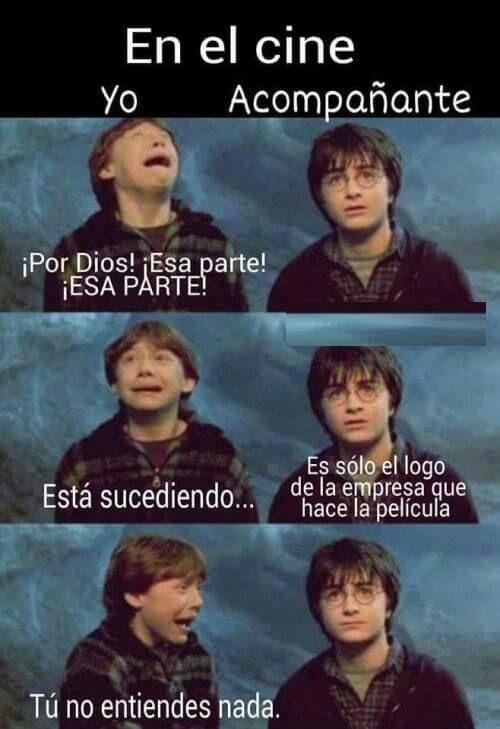 Memesespanol Memesgraciosos Humor Memes Risas Gracioso Bromas Risas Memazo Siteriespierdes Harry Potter Funny Harry Potter Memes Harry Potter Tumblr