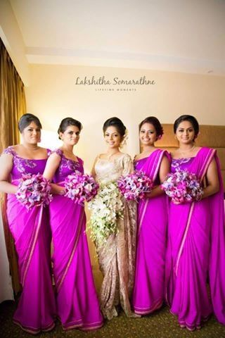 17 best images about bridal party on pinterest south for Wedding party dresses in sri lanka