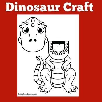 dinosaur bag puppet template