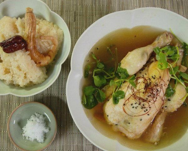 Magical Chicken Ginseng Soup
