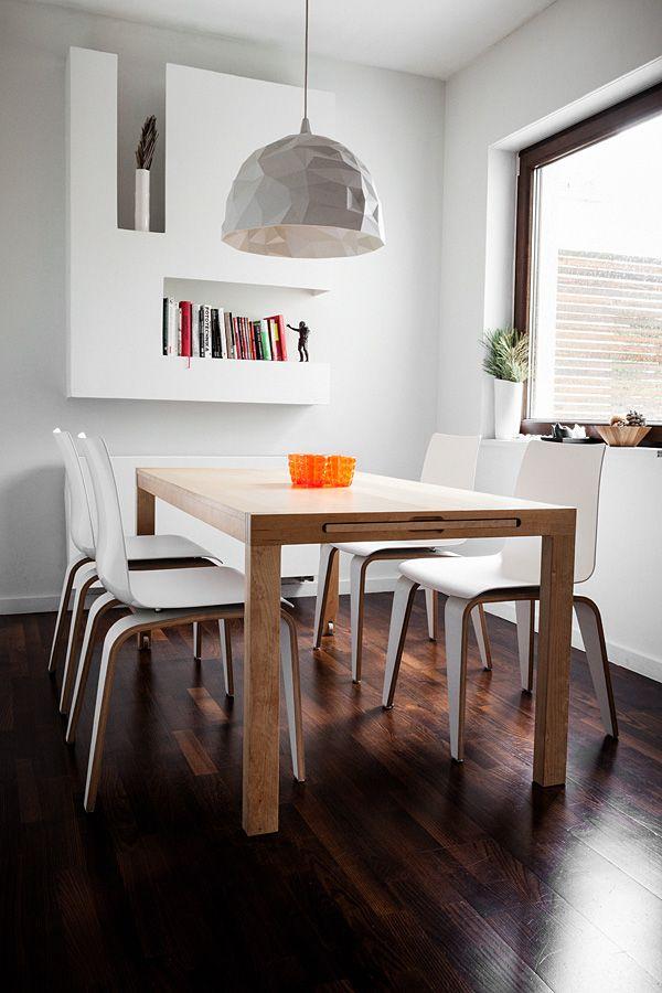 Krzesła PIGI w jadalni