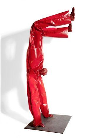 Red acrobat par George Lappas