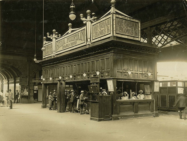 Kiosk at Central Railway Station, Sydney