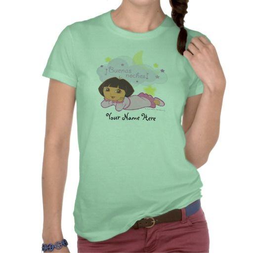 Dora The Explorer - Buenas Noches! Tees